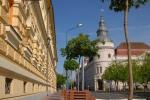 Városháza - Megyeháza oldalról