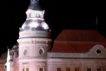 Városháza éjjel