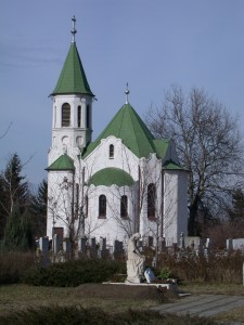 Szecessziós temetőkápolna