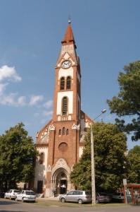 Felsőpárti református templom
