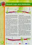Kossuth utca átalakulása szórólap 1. oldal