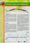 Kossuth utca átalakulása szórólap 2. oldal