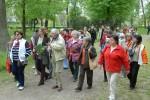 A szentesi látogatást a Széchenyi ligetben kezdték