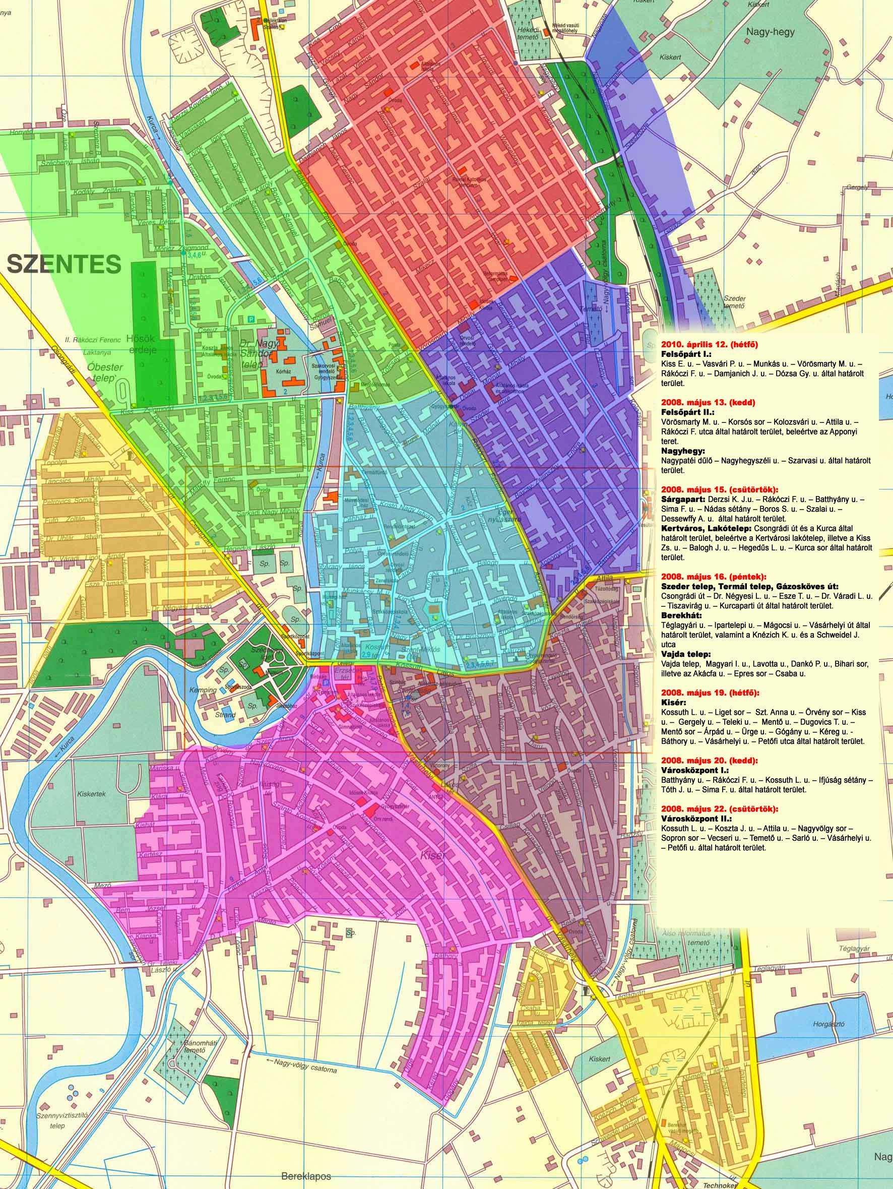szentes térkép Szentes város hivatalos honlapja szentes térkép