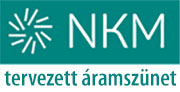 NKM tervezett áramszünetei